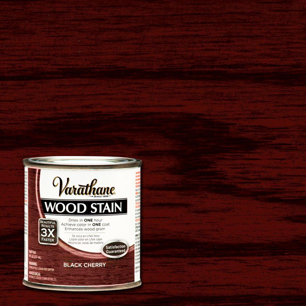 Black Cherry Wood Interior Stain