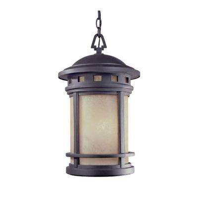 Sedona 3-Light Oil Rubbed Bronze Outdoor Hanging Lantern