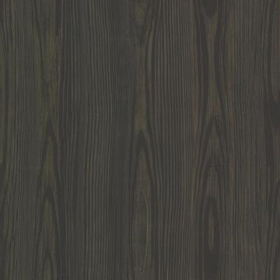 Black Tanice Faux Wood Texture Wallpaper