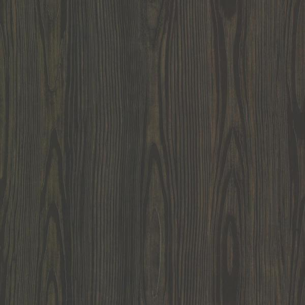 Brewster Black Tanice Faux Wood Texture Wallpaper Sample HZN43054SAM