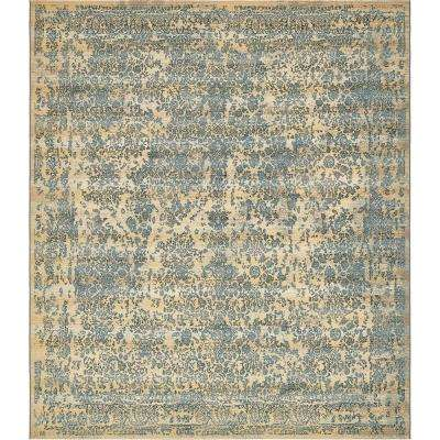 Outdoor Botanical Beige 10' x 12' Rug