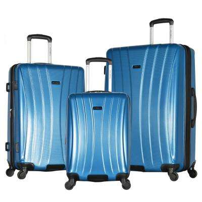 Brighton 3-Piece Navy Expandable Hard Case Spinner Set