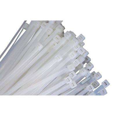 14 in. Natural Zip Ties (100 Pack)