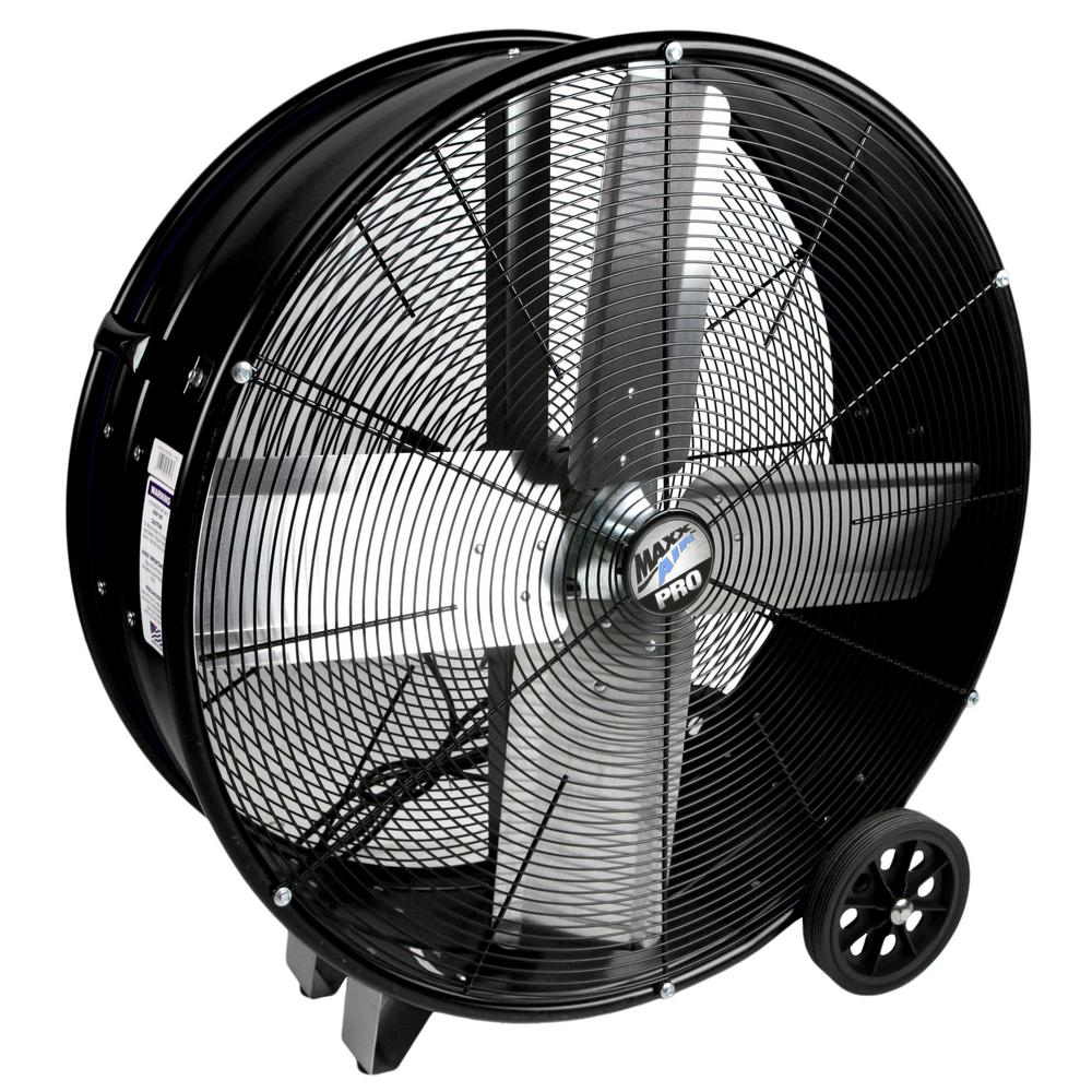 MaxxAir PRO 30 in. 2 Speed Drum Fan