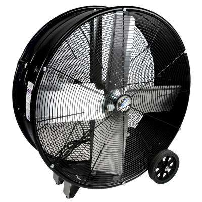PRO 30 in. 2 Speed Drum Fan with Hanging Receivers