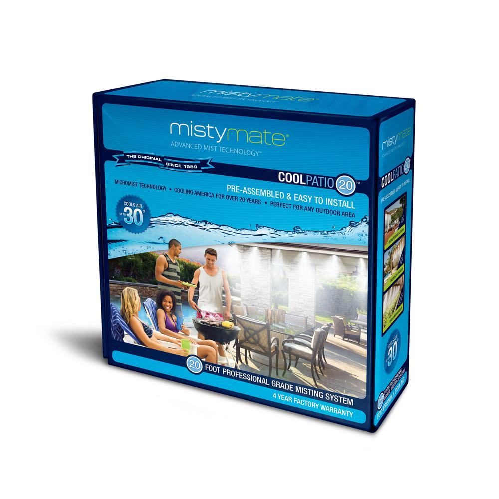 Low Pressure Patio Misting System