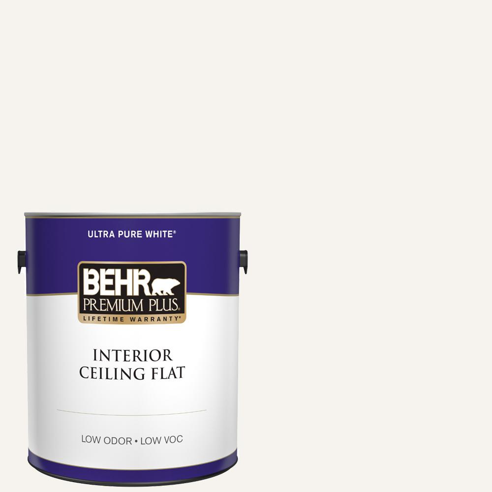 1 gal. Ultra Pure White Ceiling Flat Interior Paint