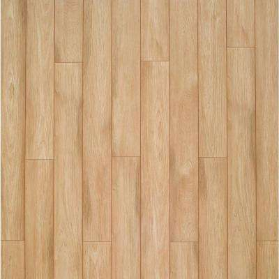 XP Sun Bleached Hickory Laminate Flooring - 5 in. x 7 in. Take Home Sample