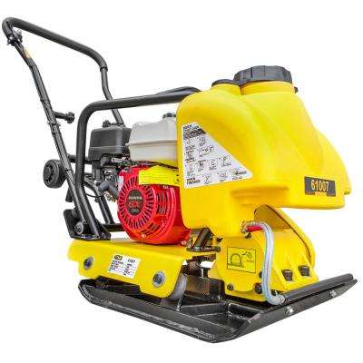 5.5 HP Gas Vibratory Plate Compactor with Tamper Rammer Water Tank, Powered by Honda Engine