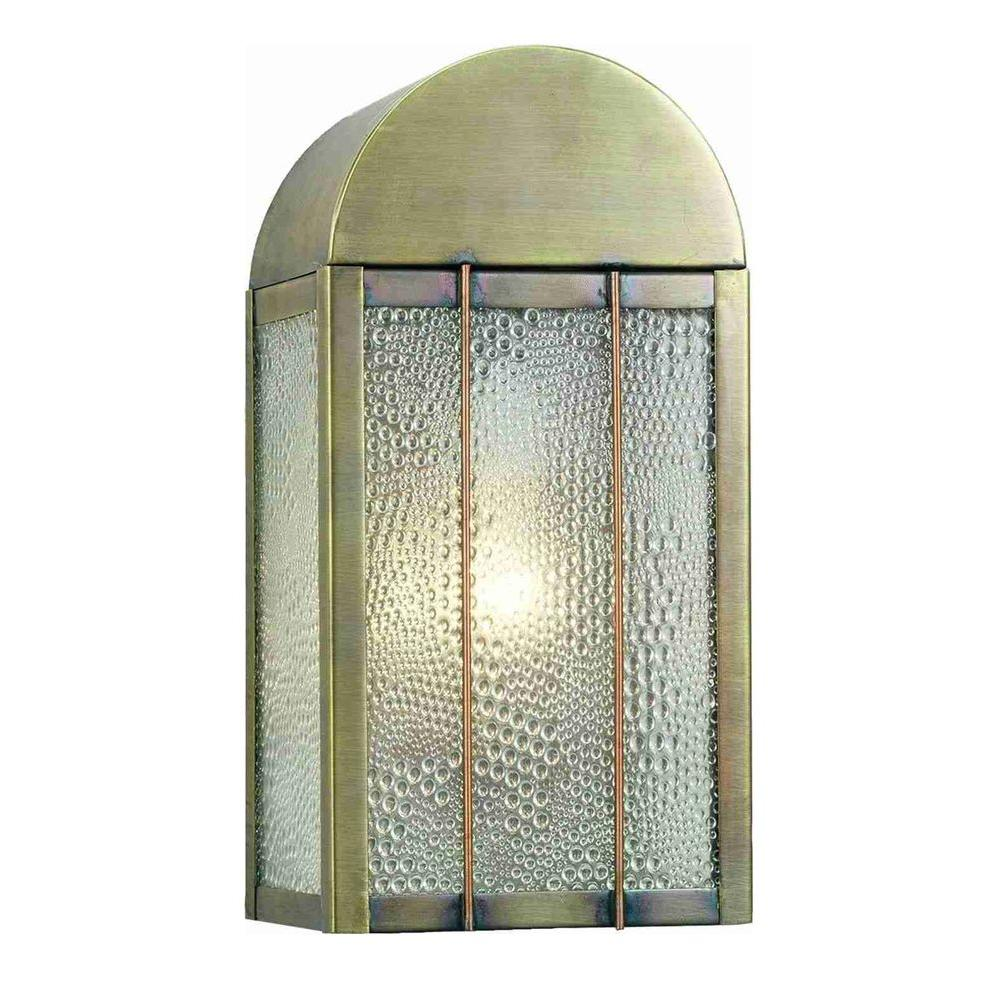 Illumine 1 Coppers Bars Wall Sconce Antique Finish