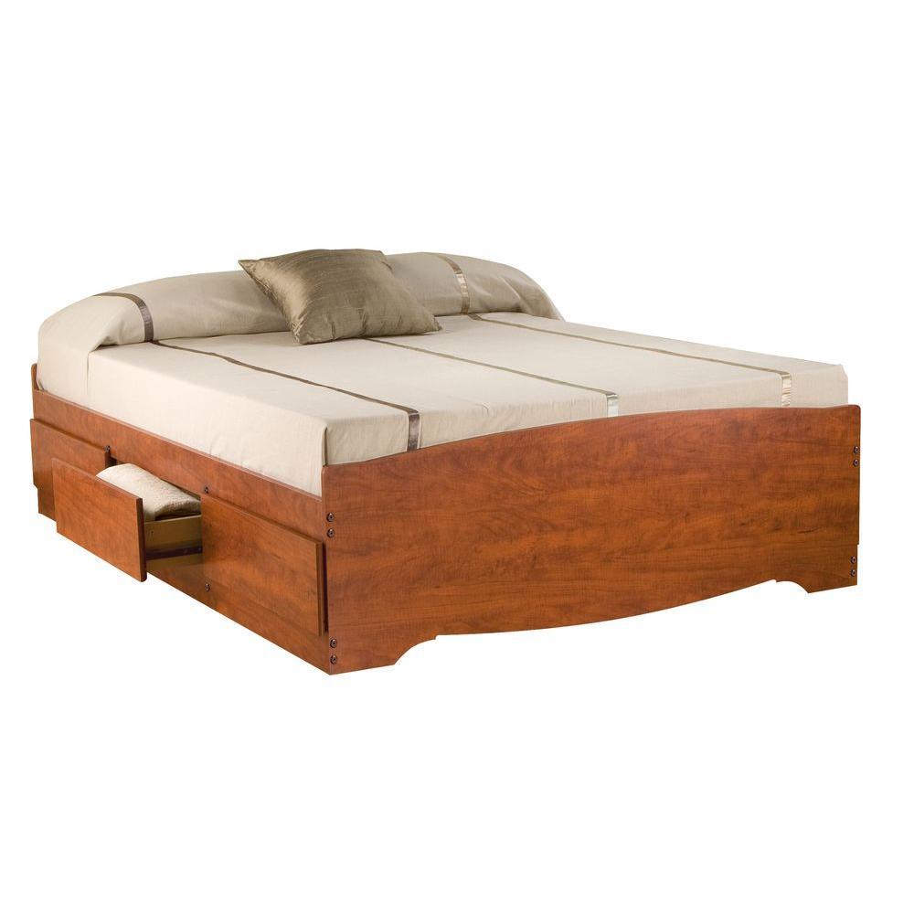 Monterey Queen Wood Storage Bed