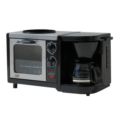Breakfast Center 1450 W 2-Slice Black Toaster Oven