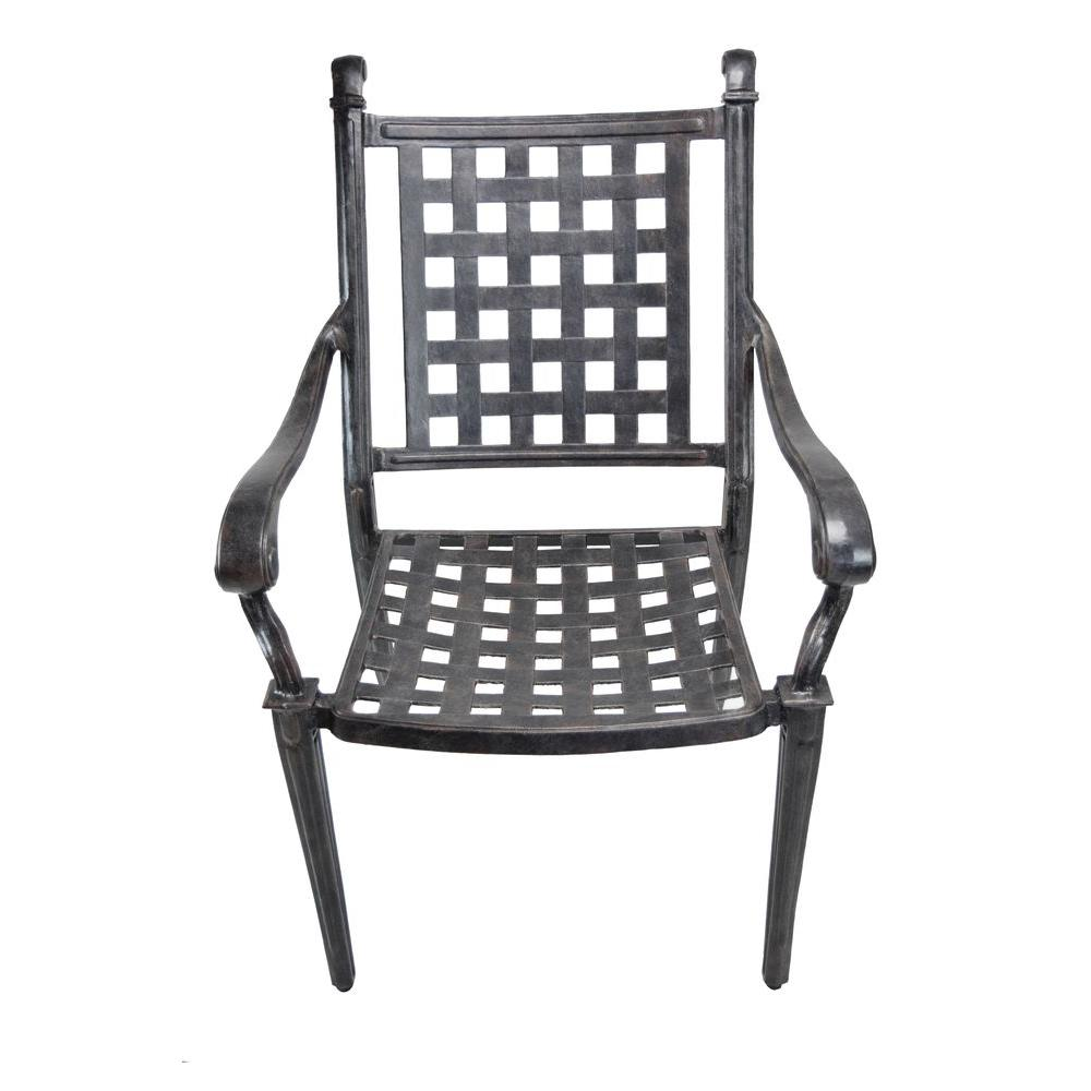 Charming Oakland Living Belmont Aluminum Patio Dining Chair