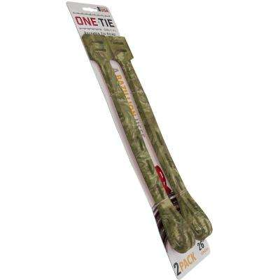 26 in. Cable Ties, Camo (2-Pack)