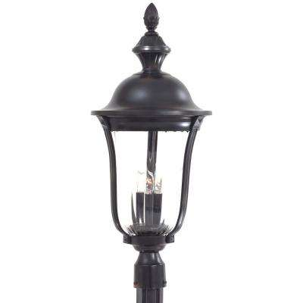 Morgan Park 3-Light Outdoor Heritage Post Lantern