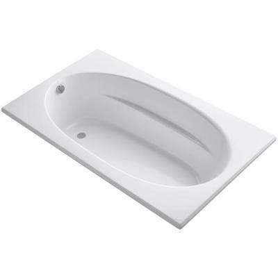 Windward 6 ft. Reversible Drain Acrylic Soaking Tub in White