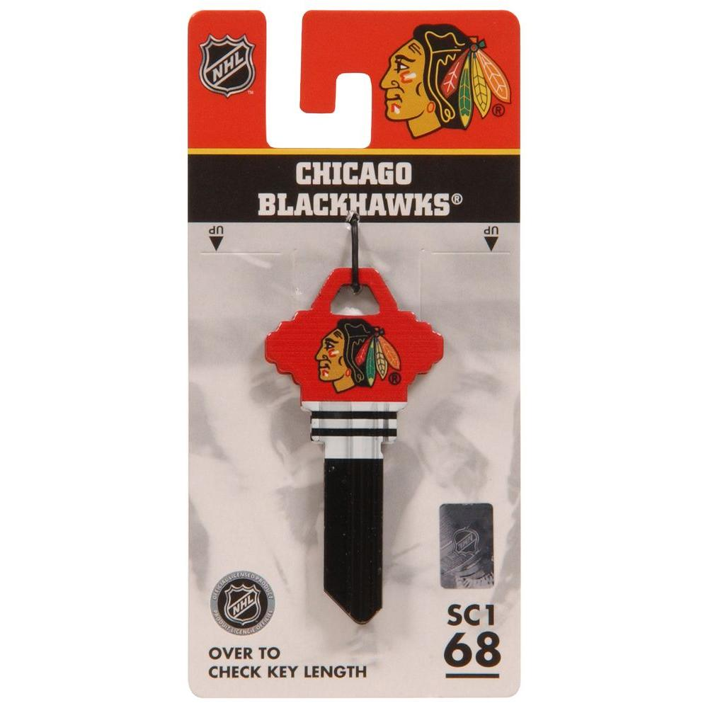 more photos 961d6 886fc Hillman NHL Chicago Blackhawks Blank Sports Key-94052 - The ...
