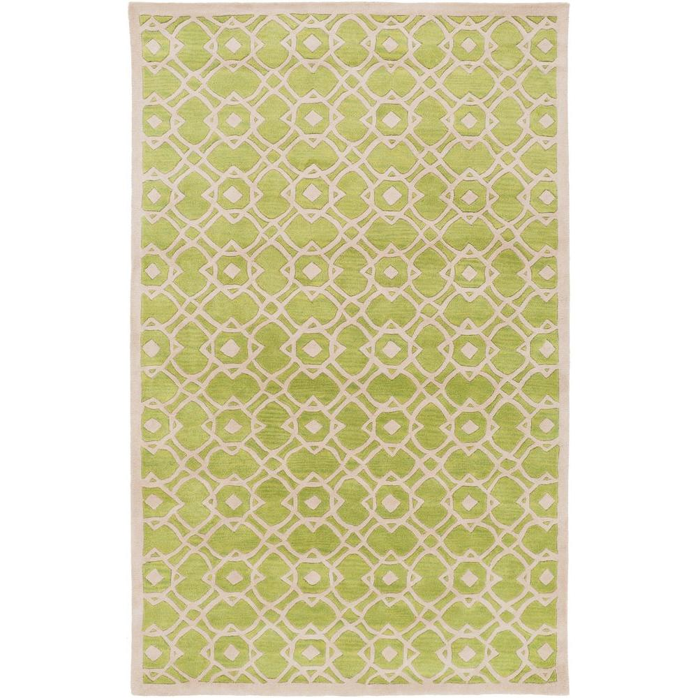Geneva Lime 8 ft. x 11 ft. Indoor Area Rug