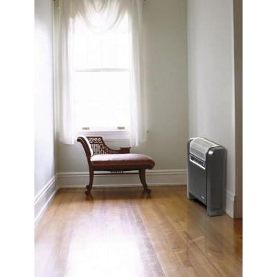 Cyclonic 1500-Watt Electric Ceramic Space Heater with Remote Control