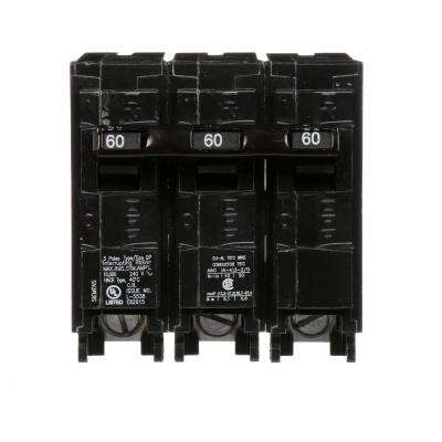 60 Amp Three-Pole Type QP Circuit Breaker