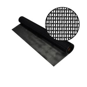 36 in. x 25 ft. Black Pet Screen