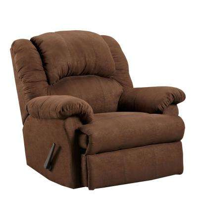 Traditions Chocolate Rocker Recliner