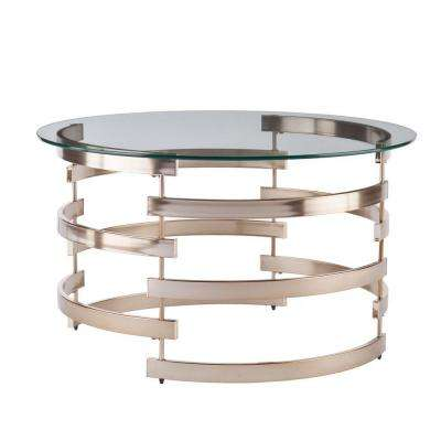 Raymond Champagne Coffee Table