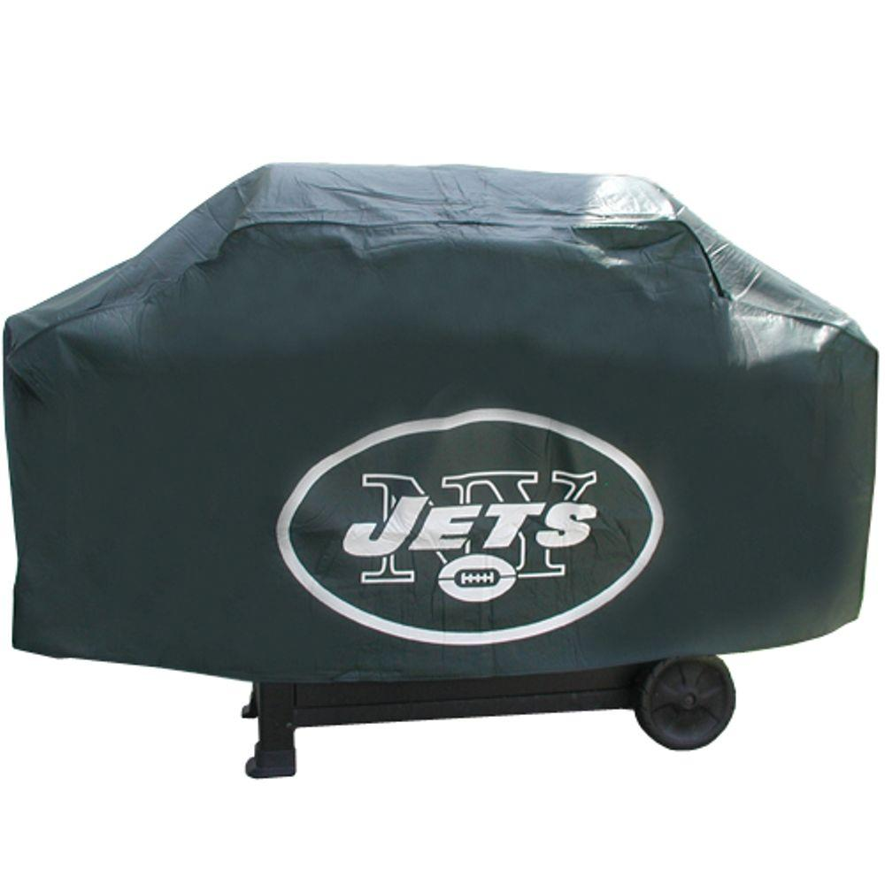 Rico Industries 68 in. NFL New York Jets Deluxe Grill Cover-DISCONTINUED