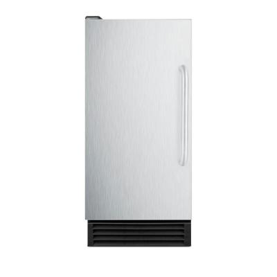 50 lbs. Built-In Ice Maker in Stainless Steel, ADA Compliant