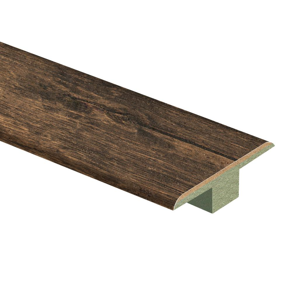 Zamma Rustic Espresso Oak 7 16 In Thick X 1 3 4 In Wide