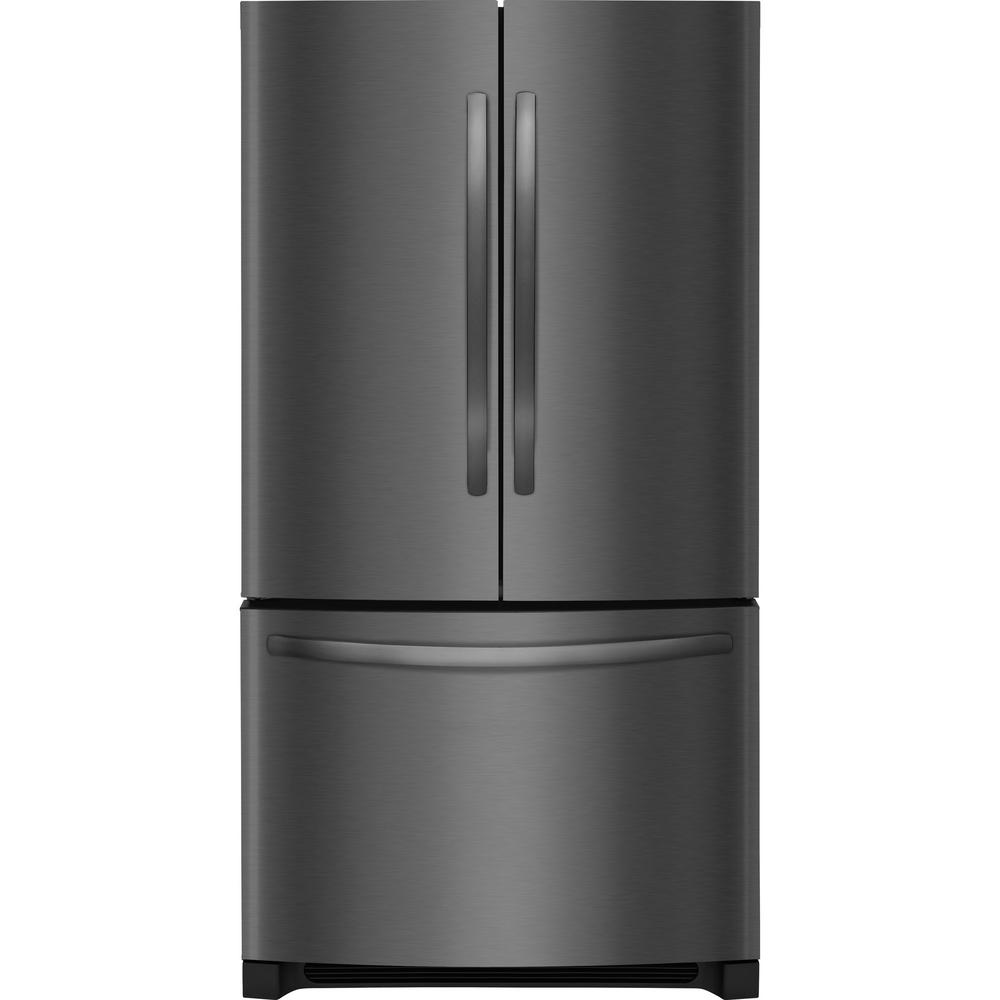 samsung cu ft french door refrigerator in black. Black Bedroom Furniture Sets. Home Design Ideas