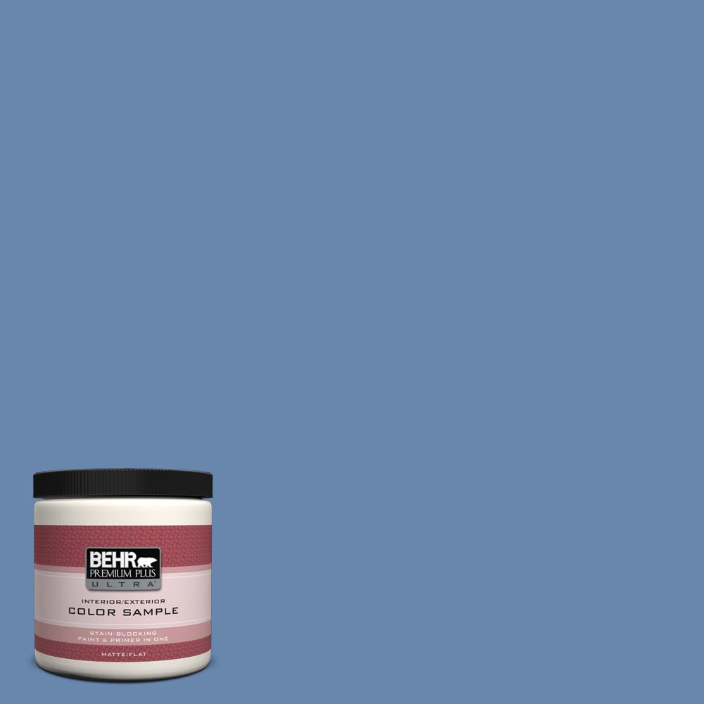 8 oz. #M530-5 Cowgirl Blue Interior/Exterior Paint Sample