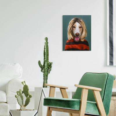 "20 in. x 16 in. Pets Rock ""Grunge"" Graphic Art on Wrapped Canvas Wall Art"