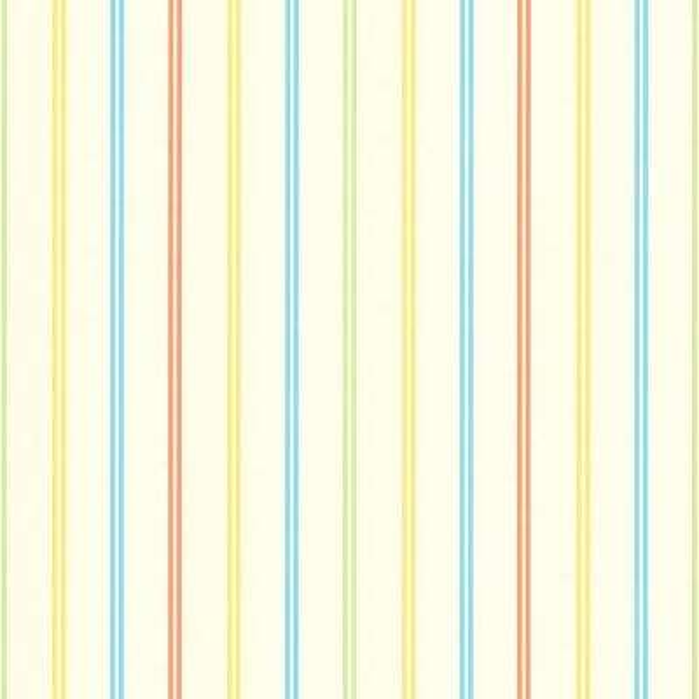 Kids World Candy Yellow Stripes Wallpaper Sample
