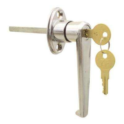 Keyed L Garage Door Replacement Lock