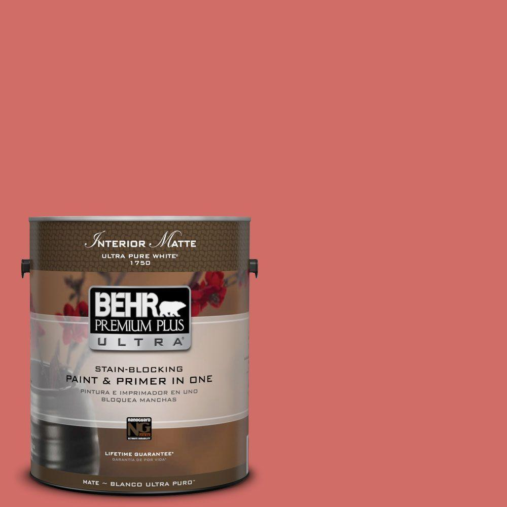 1 gal. #M160-6 Matador's Cape Matte Interior Paint and Primer in