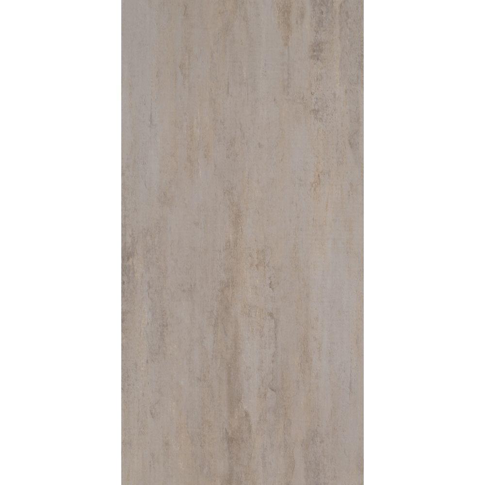 TrafficMASTER Ceramica Pearl Grey 12 in. x 24 in. Vinyl Tile Flooring (29 sq. ft. / case)