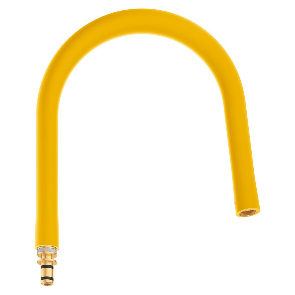Grohe Essence New Semi Pro Faucet Hose Yellow 30321yf0 The Home Depot
