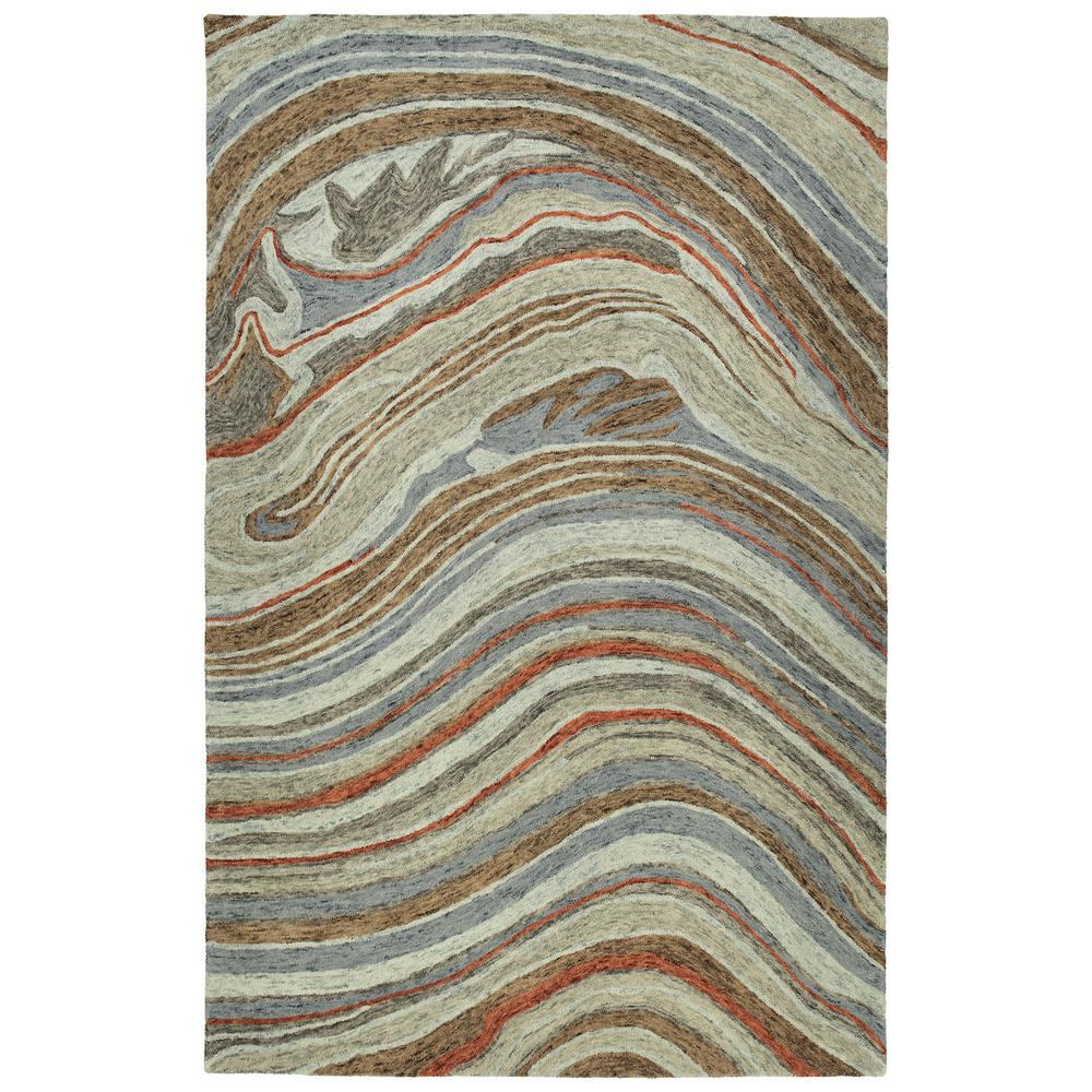 Marble Grey 3 ft. 6 in. x 5 ft. 6 in.
