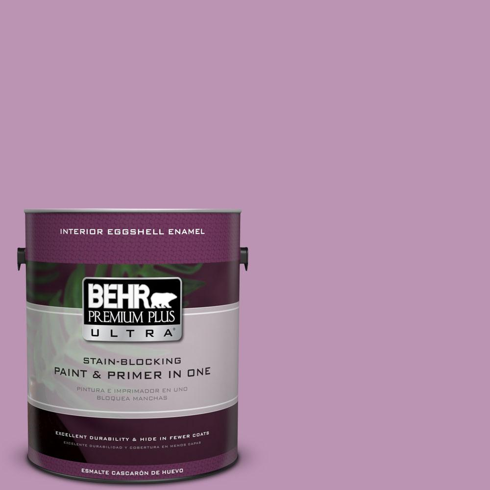 BEHR Premium Plus Ultra Home Decorators Collection 1-gal. #HDC-MD-10 Blooming Lilac Eggshell Enamel Interior Paint