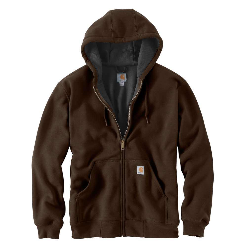Men's Regular XX Large Dark Brown Cotton/Polyester  Sweats