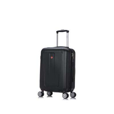 Crypto 20 in. Black Lightweight Hardside Spinner Carry-on