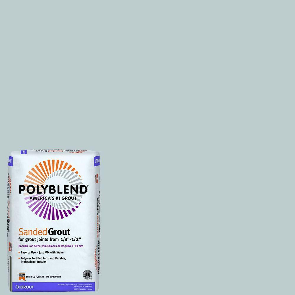 Polyblend #115 Platinum 25 lb. Sanded Grout