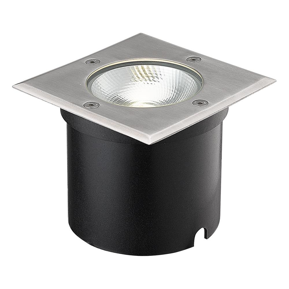 Progress lighting low voltage led 20 watt equivalent black outdoor 7 watt black stainless steel outdoor integrated led landscape well light mozeypictures Image collections