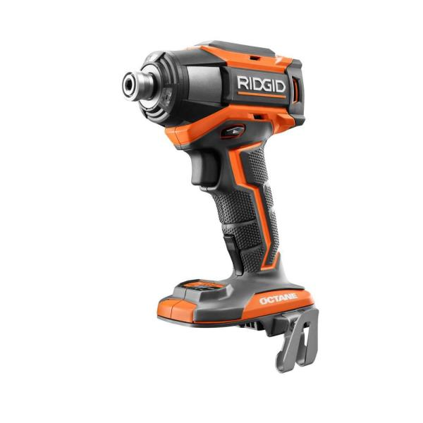18-Volt OCTANE Brushless Cordless 6-Mode 1/4 in. Impact Driver (Tool Only)