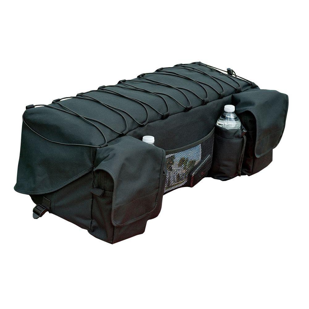atvcrb atv b mossy black or oak cover cooler bag rack