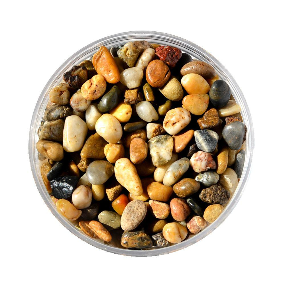 Mosser Lee 5 lb. River Pebbles in Storage Jar