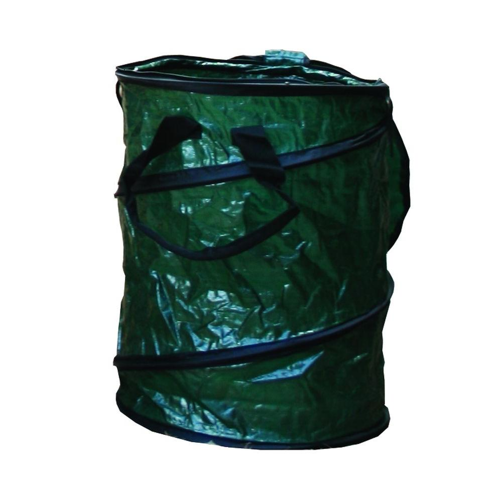 null 25 gal. Zipper Top Collapsible Trash Can