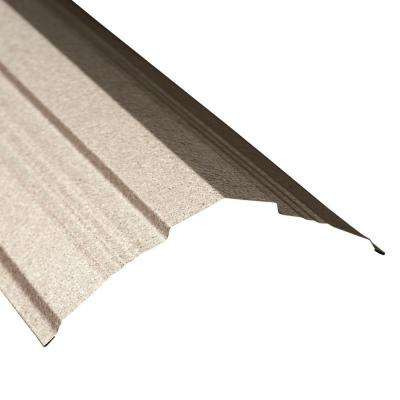 14 in. x 10.5 ft. Galvalume Universal Ridge Cap