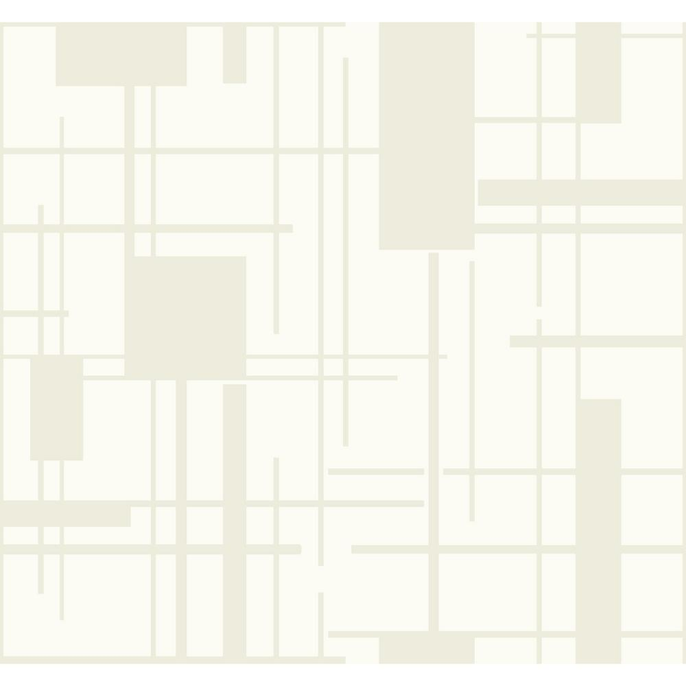 Piet Paper Strippable Wallpaper (Covers 60.75 sq. ft.)